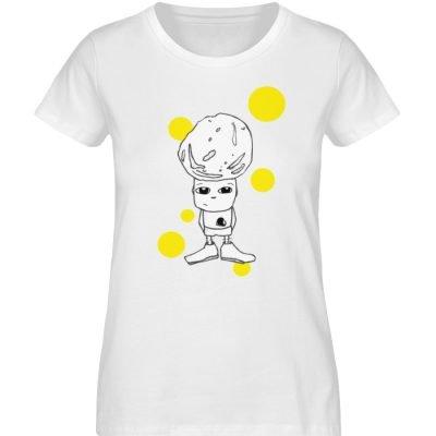 """""""Standpunkte Rock"""" von Susanne Beucher - Damen Premium Organic Shirt-3"""