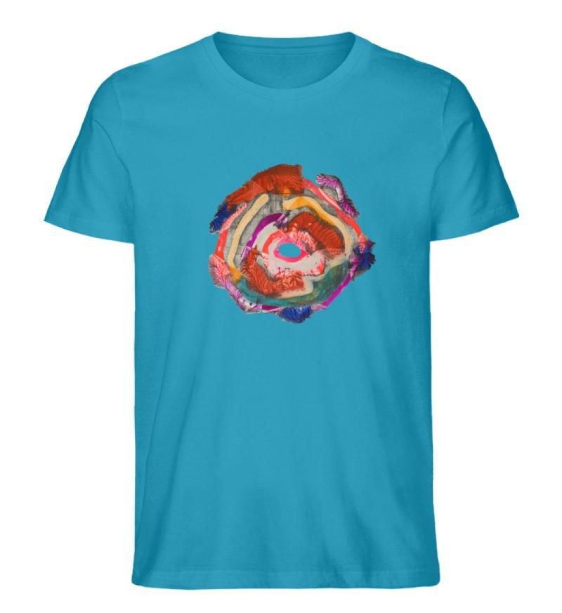 """""""Aus der Mitte 1"""" von Carolin Leyck - Herren Premium Organic Shirt-6877"""
