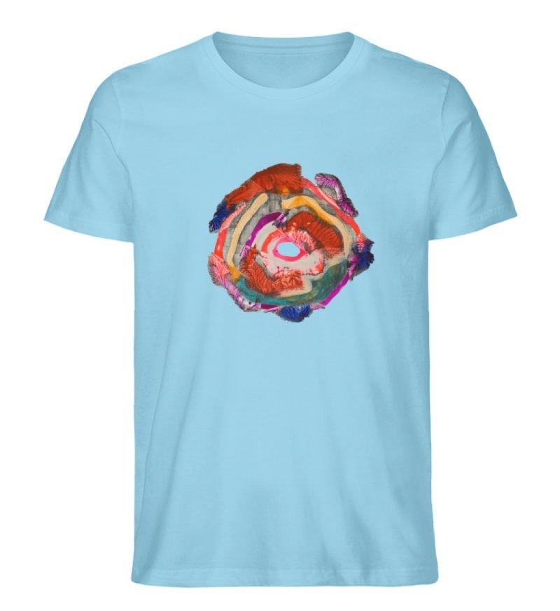 """""""Aus der Mitte 1"""" von Carolin Leyck - Herren Premium Organic Shirt-674"""