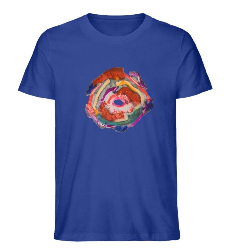 """""""Aus der Mitte 1"""" von Carolin Leyck - Herren Premium Organic Shirt-668"""