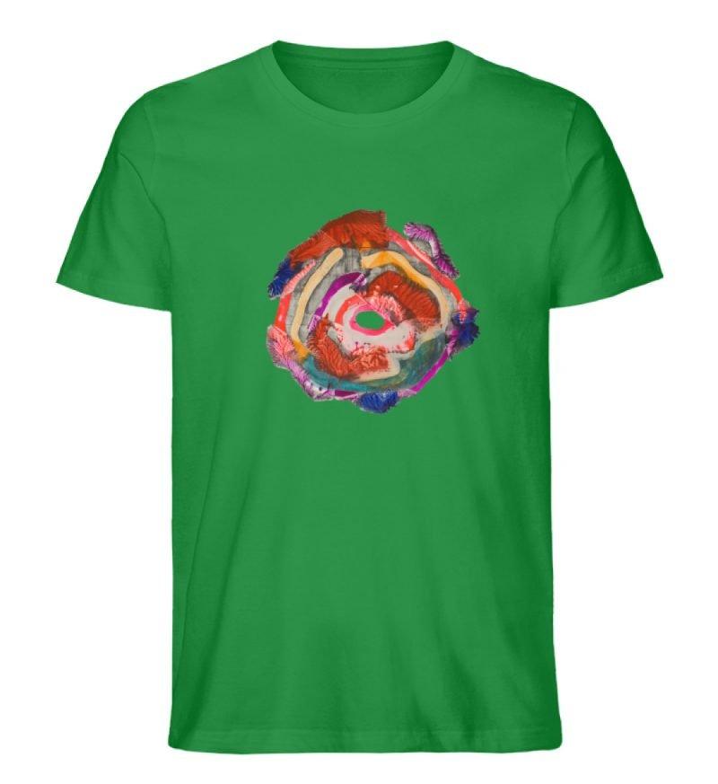 """""""Aus der Mitte 1"""" von Carolin Leyck - Herren Premium Organic Shirt-6879"""