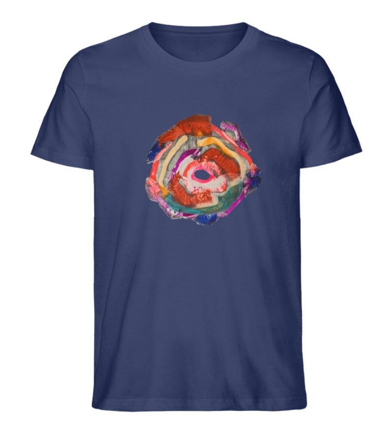 """""""Aus der Mitte 1"""" von Carolin Leyck - Herren Premium Organic Shirt-6057"""