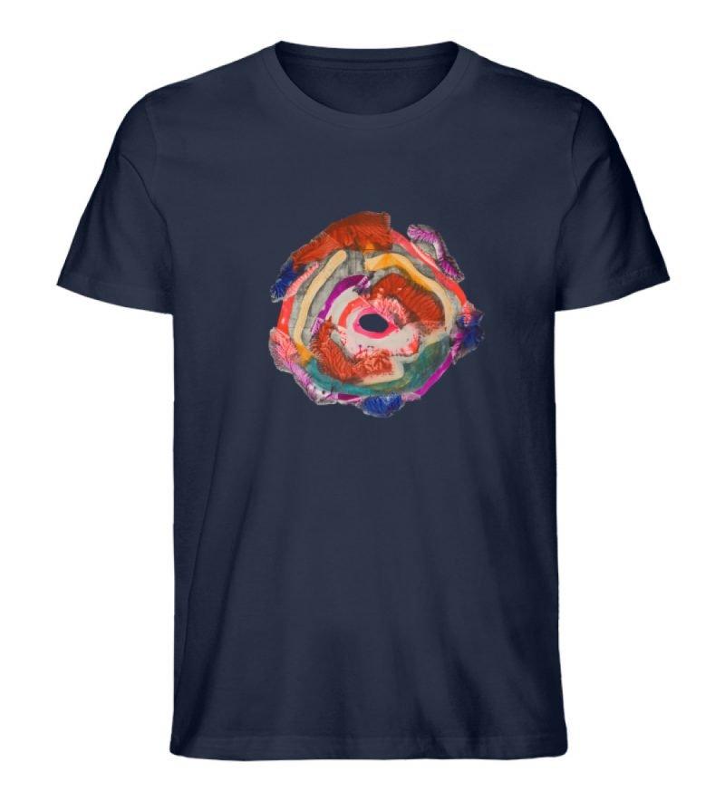 """""""Aus der Mitte 1"""" von Carolin Leyck - Herren Premium Organic Shirt-6959"""