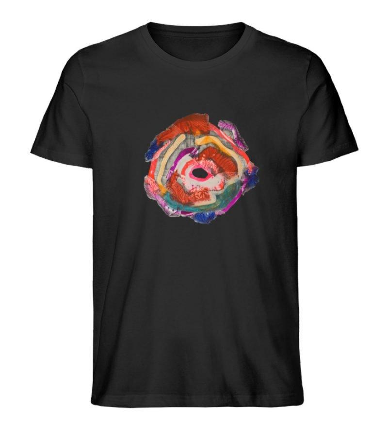 """""""Aus der Mitte 1"""" von Carolin Leyck - Herren Premium Organic Shirt-16"""