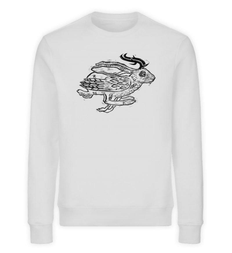 """""""Wolper"""" von Ruth Melamen - Unisex Organic Sweatshirt-6961"""