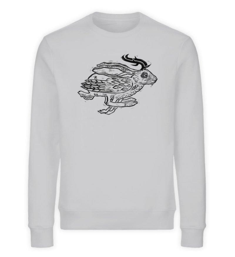 """""""Wolper"""" von Ruth Melamen - Unisex Organic Sweatshirt-17"""