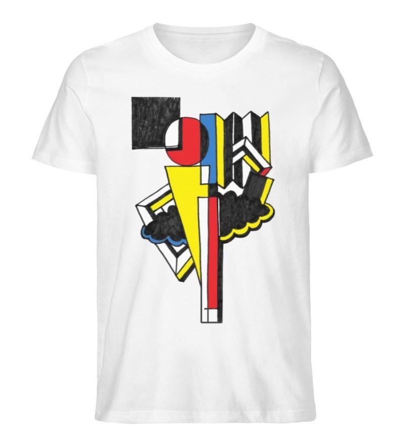 """""""Lollyportrait"""" von Alex Rath - Herren Premium Organic Shirt-3"""
