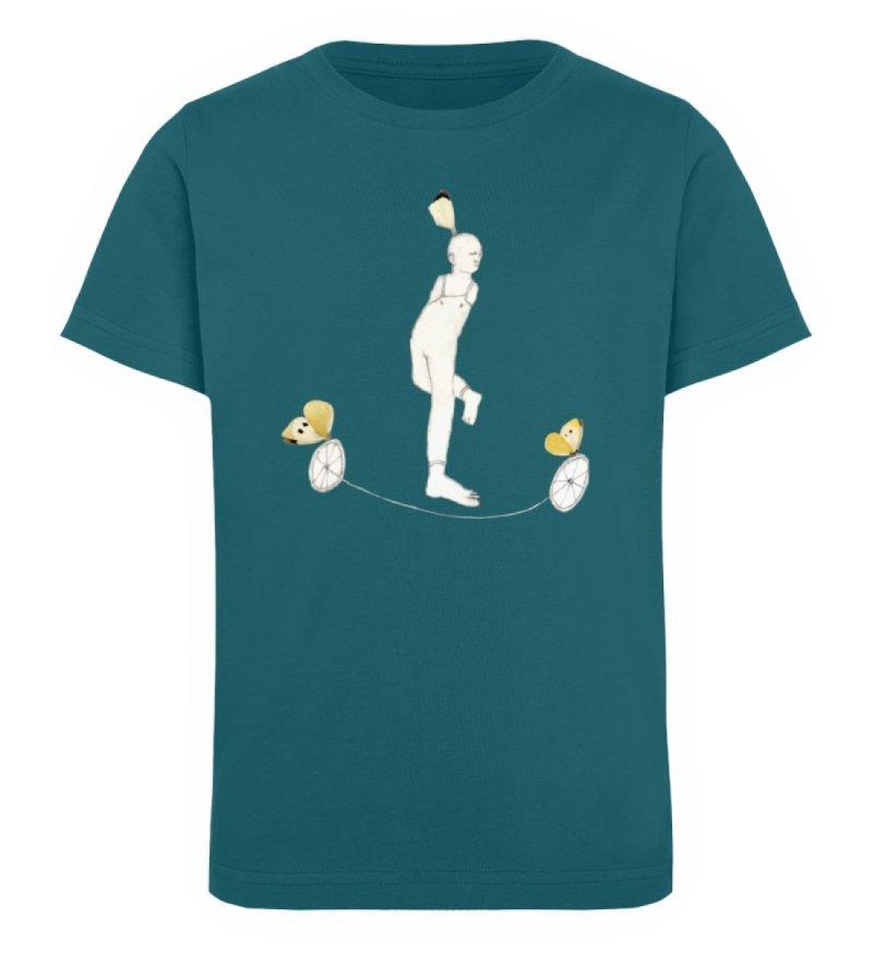 """""""Zampanello"""" von Elisabeth Endres - Kinder Organic T-Shirt-6878"""