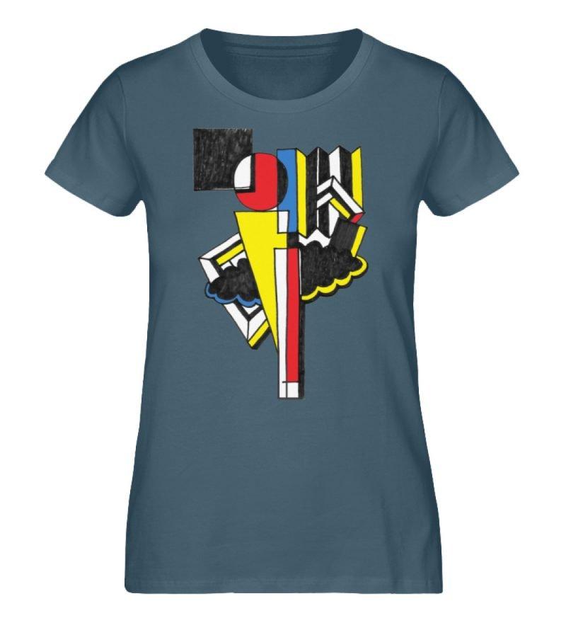 """""""Lollyportrait"""" von Alex Rath - Damen Premium Organic Shirt-6880"""