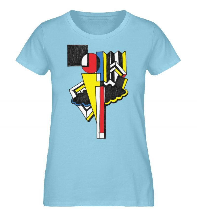 """""""Lollyportrait"""" von Alex Rath - Damen Premium Organic Shirt-674"""
