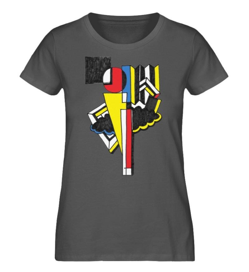 """""""Lollyportrait"""" von Alex Rath - Damen Premium Organic Shirt-6903"""