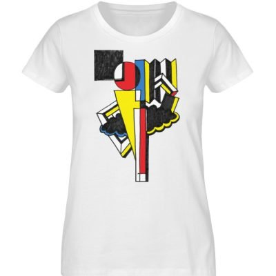 """""""Lollyportrait"""" von Alex Rath - Damen Premium Organic Shirt-3"""
