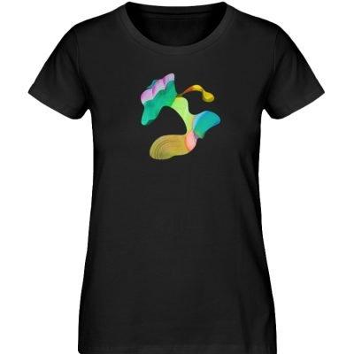 """""""Lob des Schattens 4"""" von Carolin Leyck - Damen Premium Organic Shirt-16"""