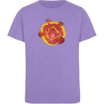 """""""Aus der Mitte 3"""" von Carolin Leyck - Kinder Organic T-Shirt-6884"""