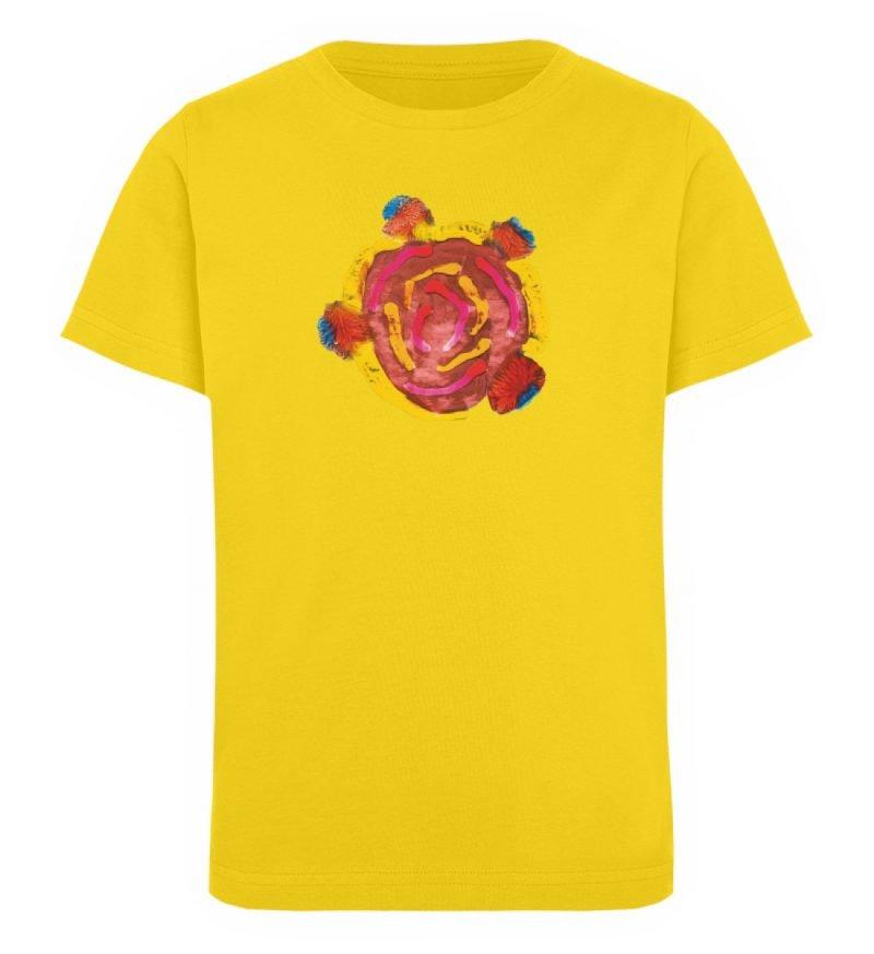 """""""Aus der Mitte 3"""" von Carolin Leyck - Kinder Organic T-Shirt-6885"""