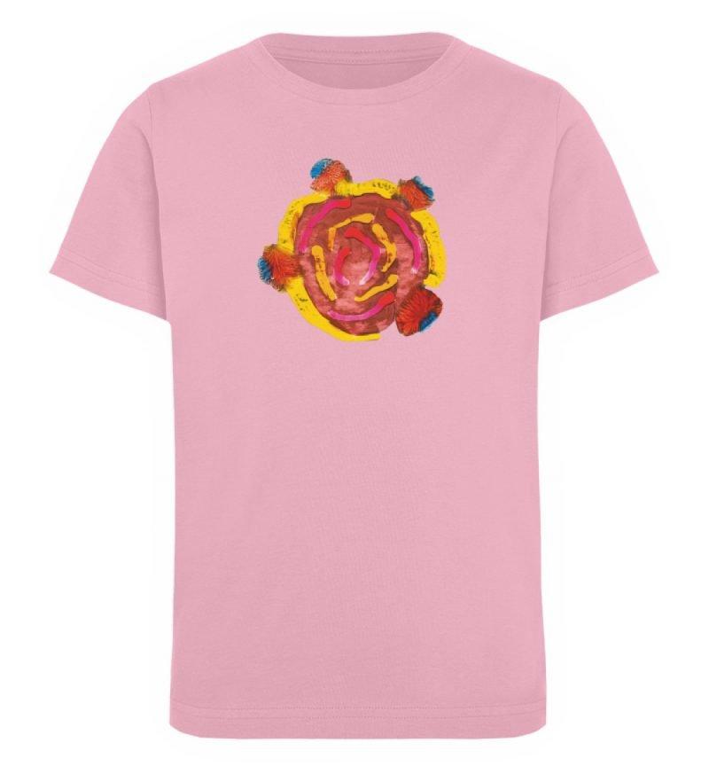 """""""Aus der Mitte 3"""" von Carolin Leyck - Kinder Organic T-Shirt-6883"""