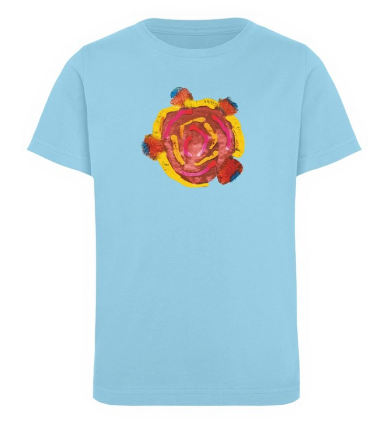 """""""Aus der Mitte 3"""" von Carolin Leyck - Kinder Organic T-Shirt-674"""
