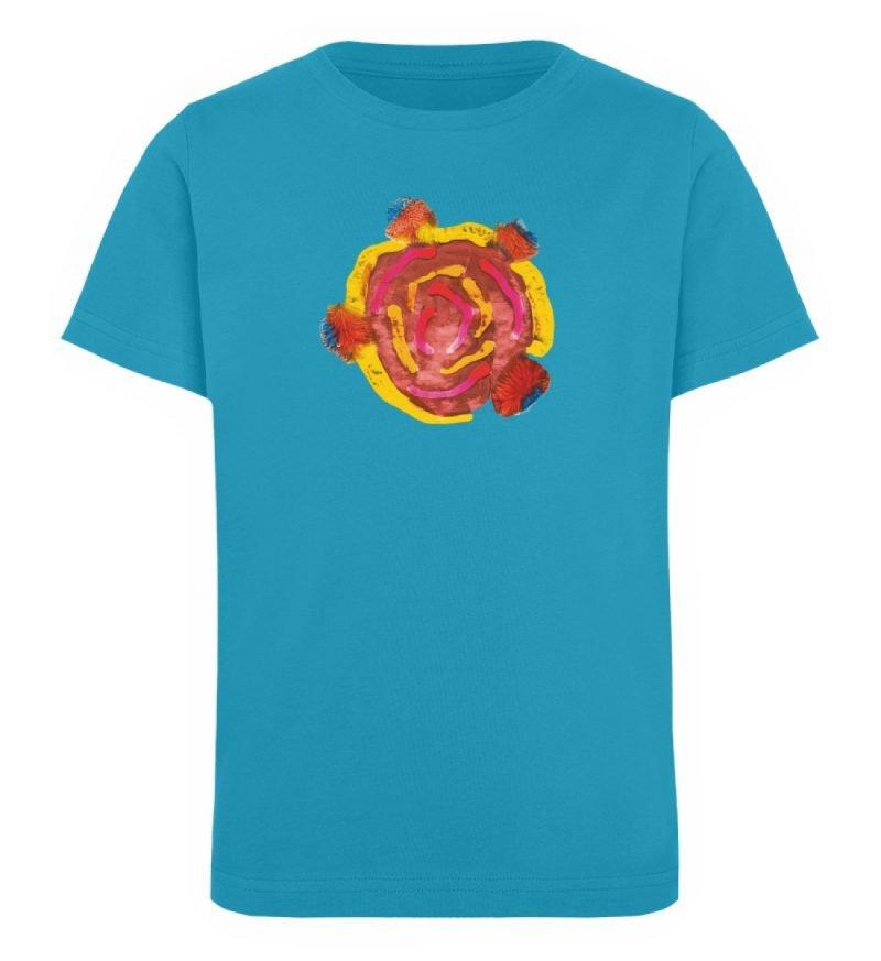 """""""Aus der Mitte 3"""" von Carolin Leyck - Kinder Organic T-Shirt-6877"""