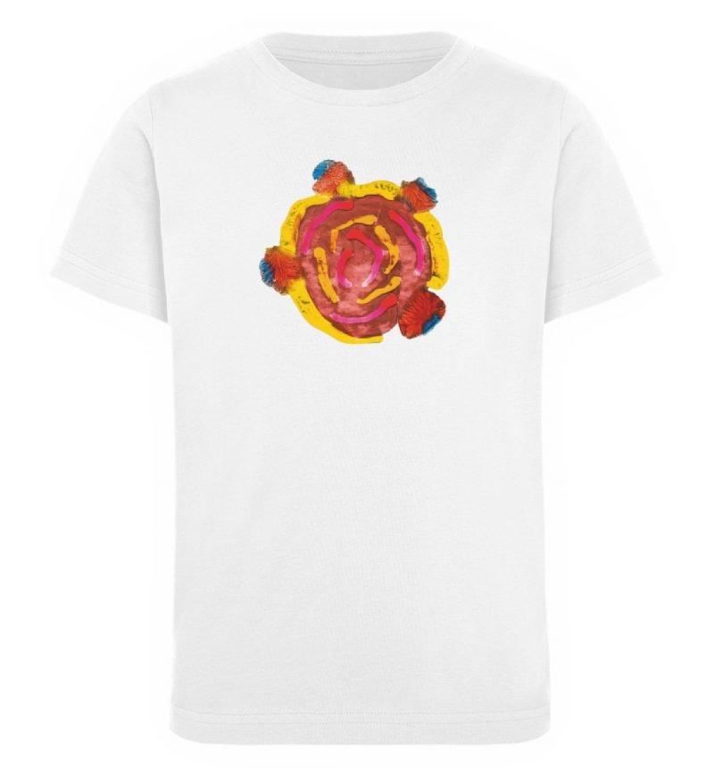 """""""Aus der Mitte 3"""" von Carolin Leyck - Kinder Organic T-Shirt-3"""