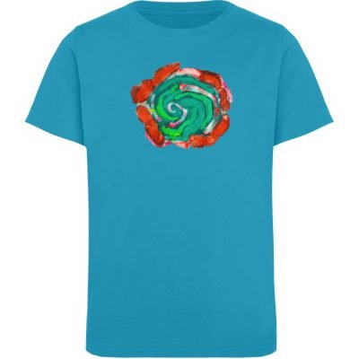 """""""Aus der Mitte 4"""" von Carolin Leyck - Kinder Organic T-Shirt-6877"""