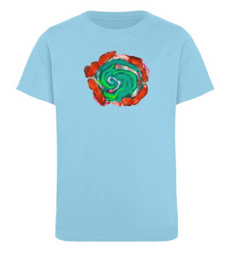 """""""Aus der Mitte 4"""" von Carolin Leyck - Kinder Organic T-Shirt-674"""