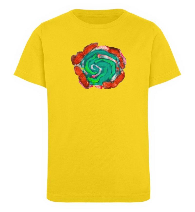 """""""Aus der Mitte 4"""" von Carolin Leyck - Kinder Organic T-Shirt-6885"""