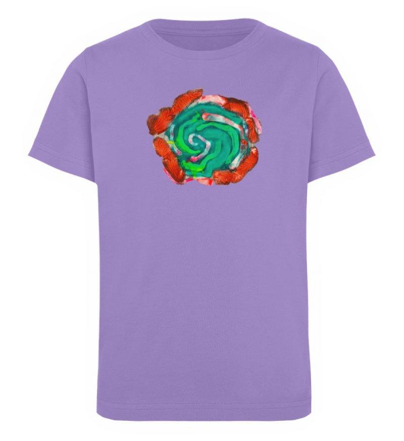 """""""Aus der Mitte 4"""" von Carolin Leyck - Kinder Organic T-Shirt-6884"""