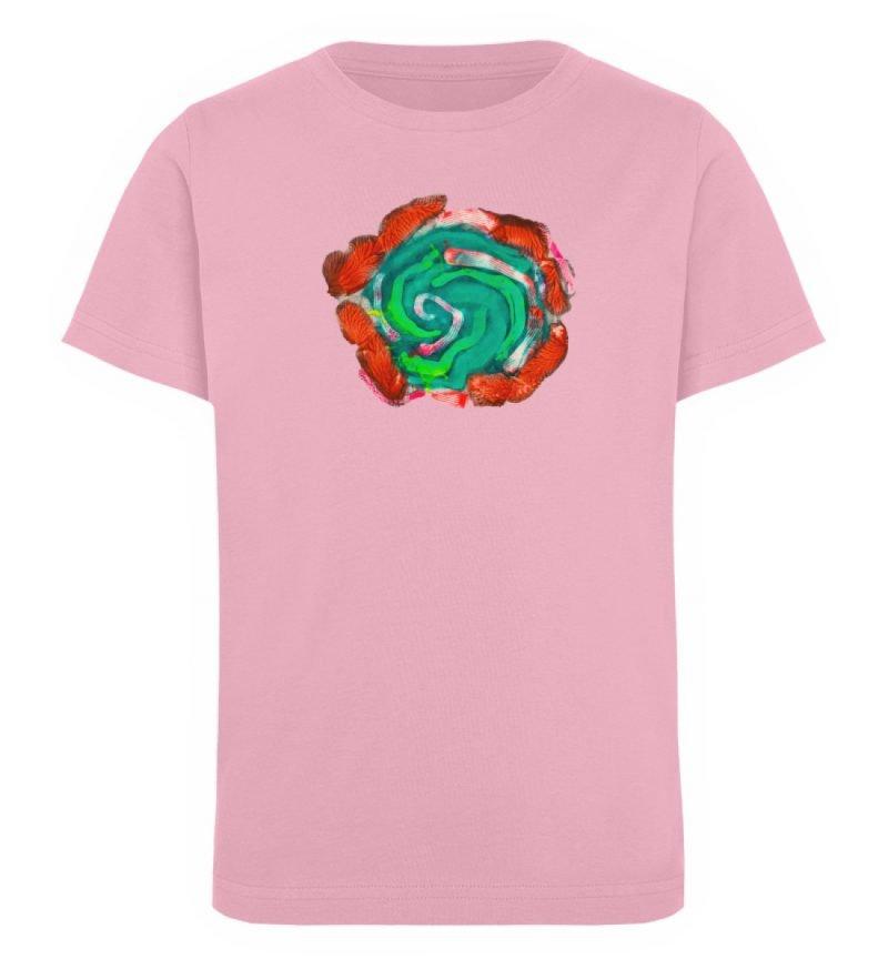 """""""Aus der Mitte 4"""" von Carolin Leyck - Kinder Organic T-Shirt-6883"""