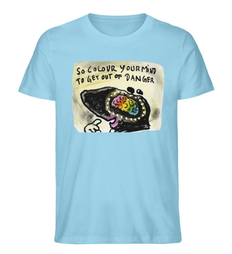 """""""So colour your mind"""" von Steffen Haas - Herren Premium Organic Shirt-674"""