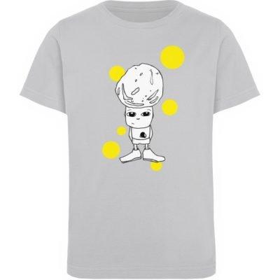 """""""Standpunkte Rock"""" von Susanne Beucher - Kinder Organic T-Shirt-17"""