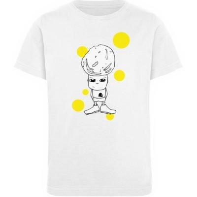 """""""Standpunkte Rock"""" von Susanne Beucher - Kinder Organic T-Shirt-3"""