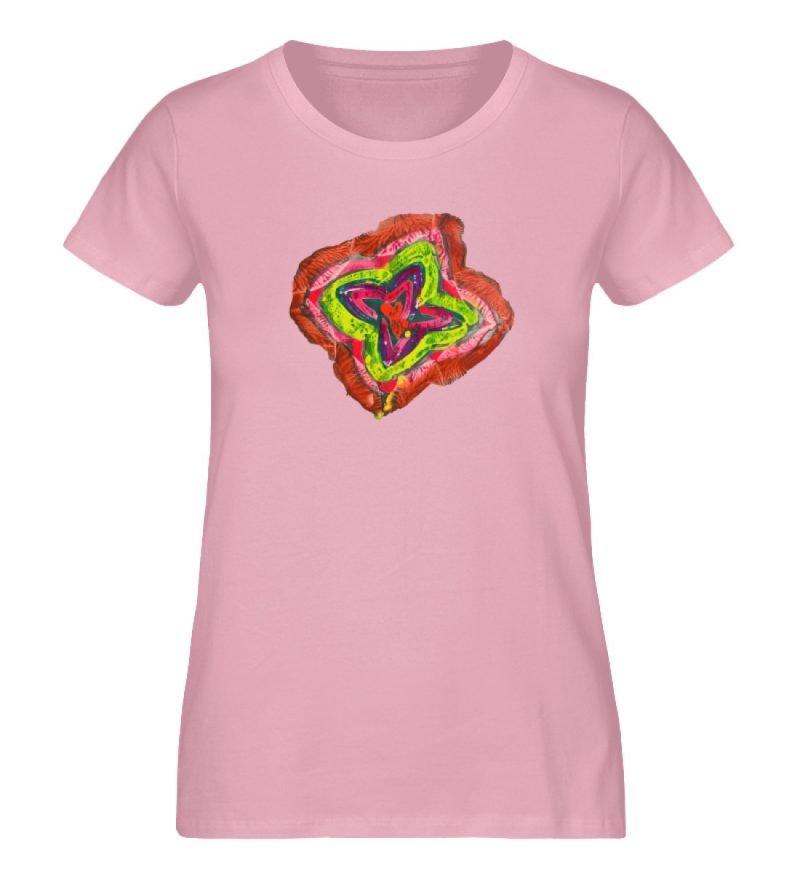 """""""Aus der Mitte 2"""" von Carolin Leyck - Damen Premium Organic Shirt-6883"""