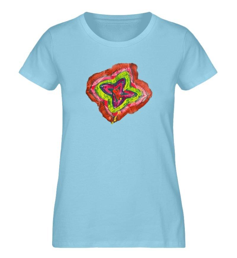 """""""Aus der Mitte 2"""" von Carolin Leyck - Damen Premium Organic Shirt-674"""