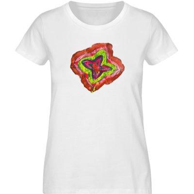 """""""Aus der Mitte 2"""" von Carolin Leyck - Damen Premium Organic Shirt-3"""