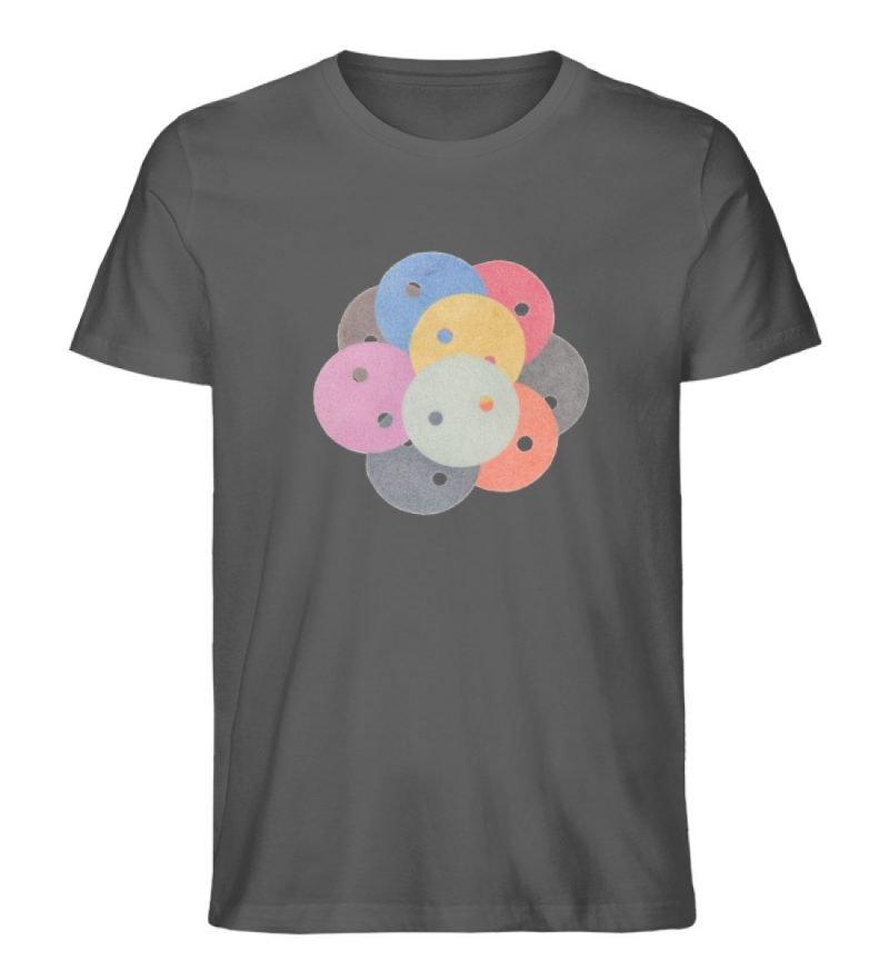 """""""Knöpfe 1"""" von Monika Kapfer - Herren Premium Organic Shirt-6903"""