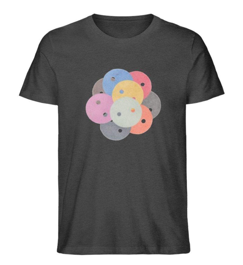 """""""Knöpfe 1"""" von Monika Kapfer - Herren Premium Organic Shirt-6881"""