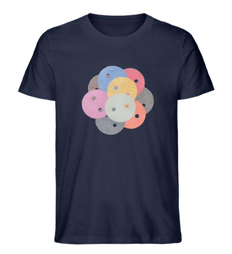 """""""Knöpfe 1"""" von Monika Kapfer - Herren Premium Organic Shirt-6959"""