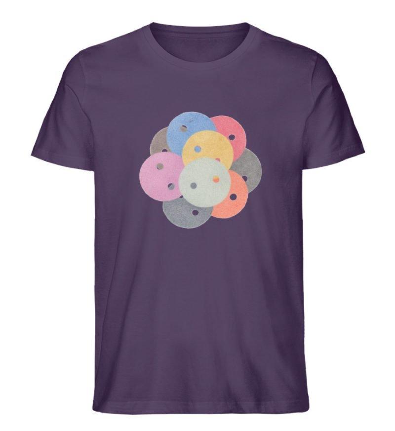 """""""Knöpfe 1"""" von Monika Kapfer - Herren Premium Organic Shirt-6876"""