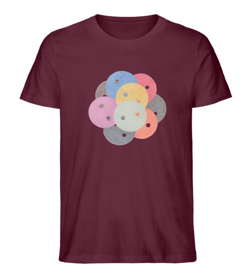 """""""Knöpfe 1"""" von Monika Kapfer - Herren Premium Organic Shirt-839"""