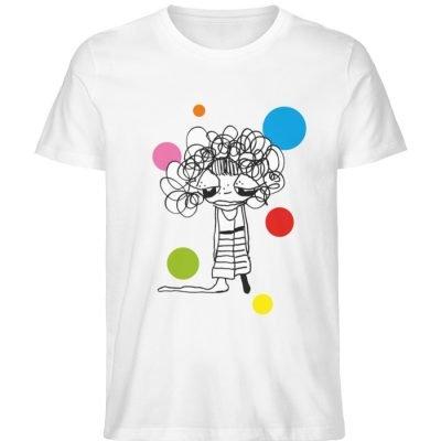 """""""Standpunkte Dream"""" von Susanne Beucher - Herren Premium Organic Shirt-3"""
