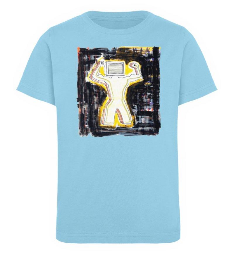 """""""Mediaman"""" von Alex Rath - Kinder Organic T-Shirt-674"""