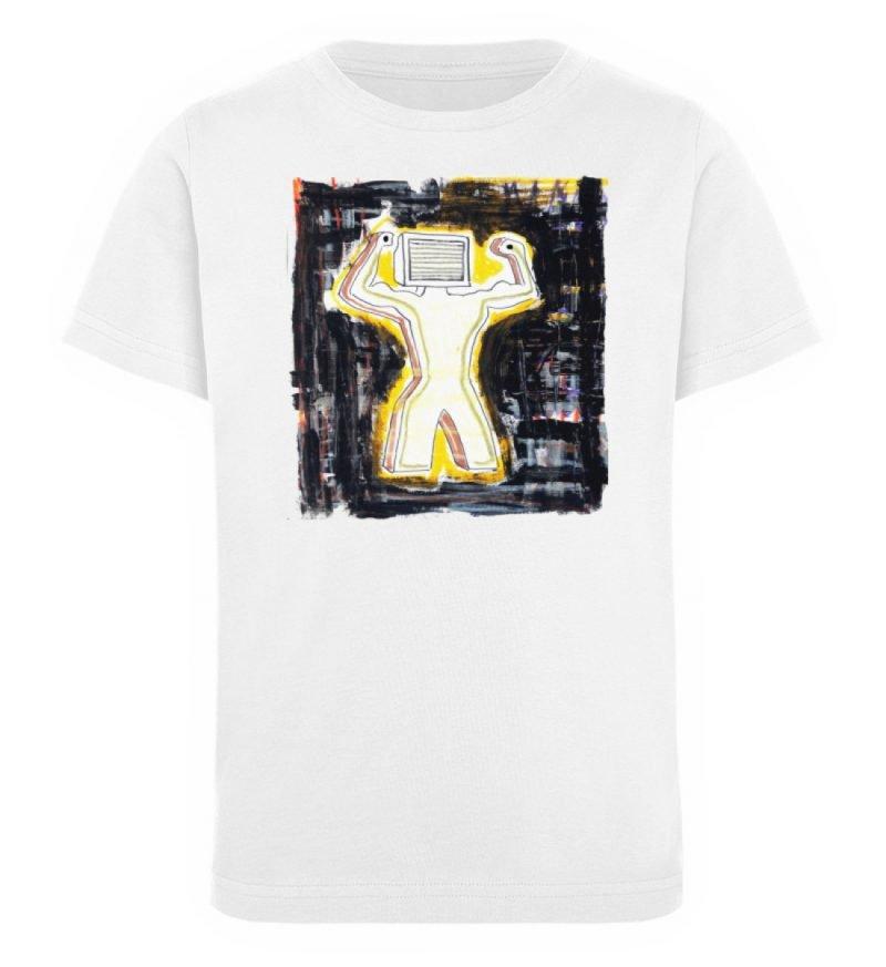 """""""Mediaman"""" von Alex Rath - Kinder Organic T-Shirt-3"""