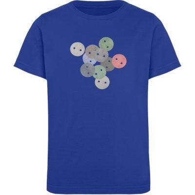 """Knöpfe 2"" von Monika Kapfer - Kinder Organic T-Shirt-668"