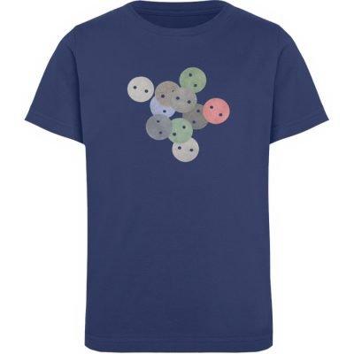 """Knöpfe 2"" von Monika Kapfer - Kinder Organic T-Shirt-6057"