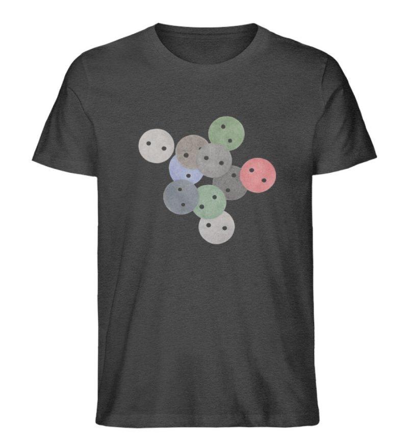 """""""Knöpfe 2"""" von Monika Kapfer - Herren Premium Organic Shirt-6881"""