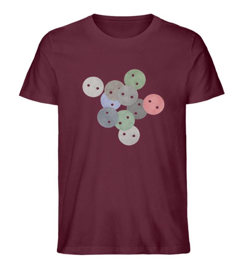 """""""Knöpfe 2"""" von Monika Kapfer - Herren Premium Organic Shirt-839"""