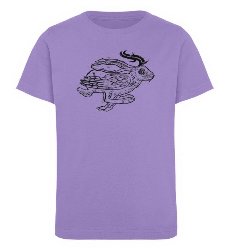 """""""Wolper"""" von Ruth Melamen - Kinder Organic T-Shirt-6884"""