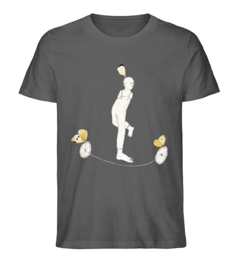 """""""Zampanello"""" von Elisabeth Endres - Herren Premium Organic Shirt-6903"""