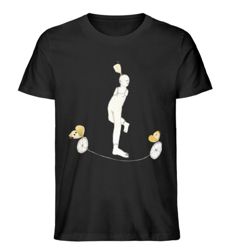 """""""Zampanello"""" von Elisabeth Endres - Herren Premium Organic Shirt-16"""
