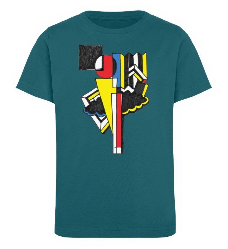 """""""Lollyportrait"""" von Alex Rath - Kinder Organic T-Shirt-6878"""